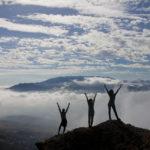 Туристы на Демерджи