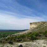 Белая скала Ак-кая в Крыму