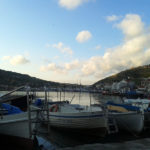 Лодки в балаклавской бухте