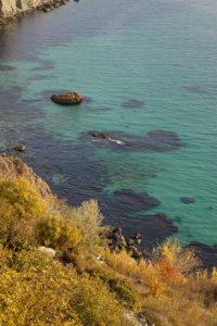 Пляжи на мысе Фиолент в Севастополе