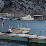 Бухта Балаклавы зимой