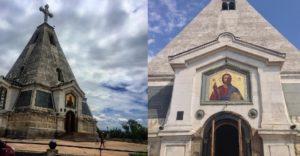 Свято-Никольский храм-памятник на Братском кладбище на Северной стороне Севастополя