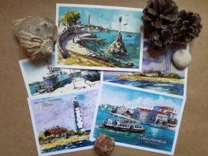 Авторские открытки из Севастополя