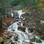 Водопады на Боткинской тропе в Ялте