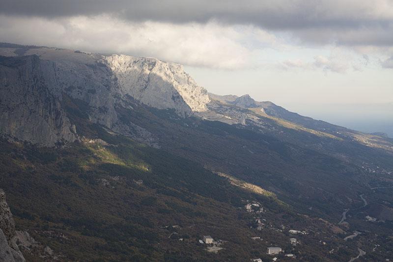 Вид с Форосского канта в Крыму