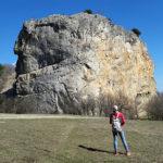 Скала Красный Камень в Крыму