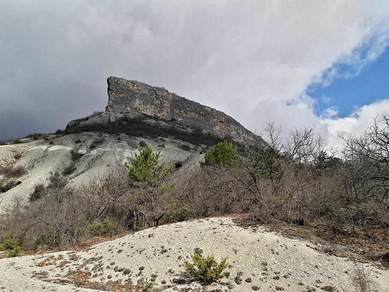 Пещерный город Кыз-Кермен в Крыму