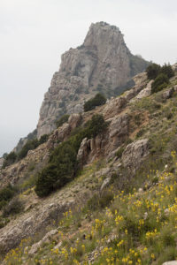 Скала Мытилино в Балаклаве