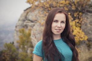 Фотограф Екатерина Фирюлина на Демерджи осенью