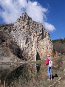 Скала Красный Камень в Гурзуфе в Крыму