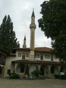 Ханский дворец в Бахчисарае в Крыму