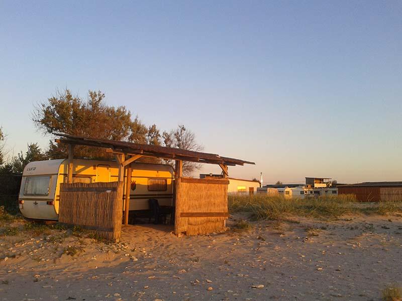 Дом на колесах в Оленевке в Крыму