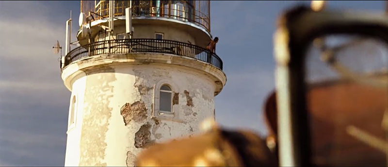 """кадр с маяком в Крыму из фильма """"Дом Солнца"""""""