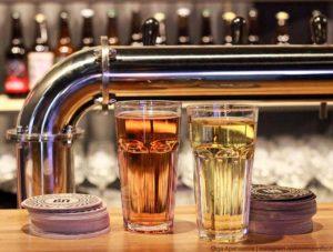 """Пиво и сидр в баре """"Ключи"""" в Севастополе"""