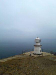 Меганомский маяк в Крыму