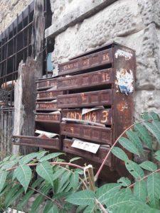 Почтовые ящики на Корабельной стороне Севастополя
