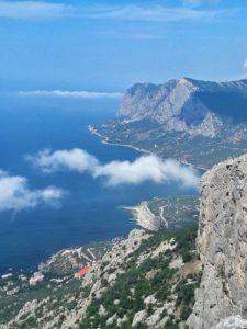 Вид с горы Ильяс-кая