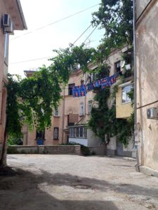 Дворик в центре Севастополя