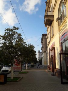 Улица Большая Морская в Севастополе