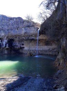 Водопад Мердвен-Тобе в Родном