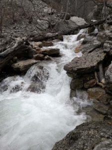 Река Учан-Су в Крыму