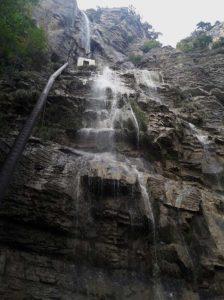Водопад Учан-Су осенью