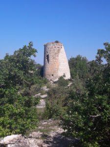 Башня Сюйреньской крепости в Бахчисарайском районе в Крыму