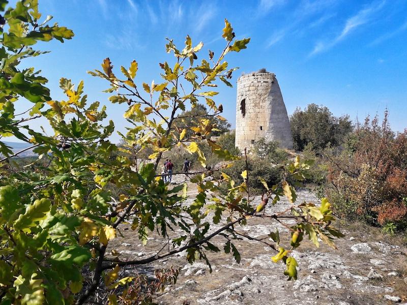 Сюйреньская крепость в Крыму осенью
