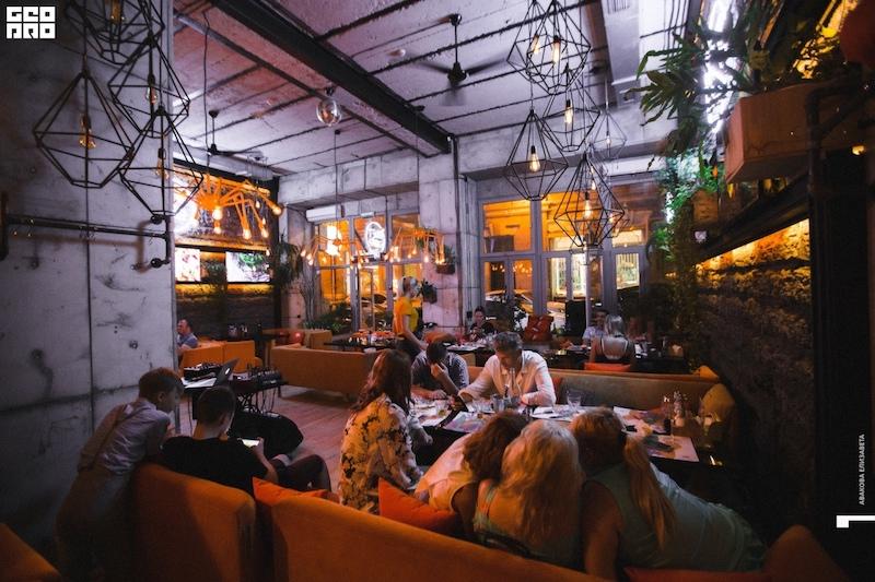 Лофт кафе в Ялте
