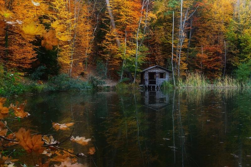 Черепашье озеро по пути на Ай-Петри в Крыму