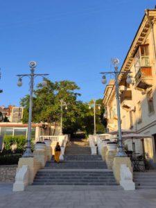 Таврическая лестница на Большой Морской в Севастополе
