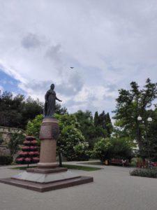 Екатерининский сквер в Севастополе